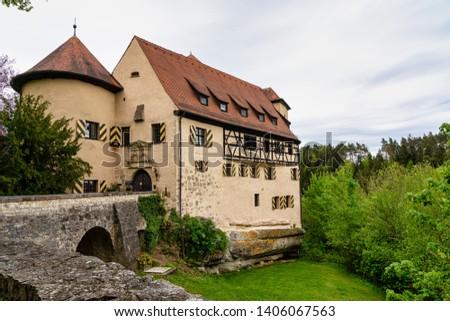 Rabenstein caste in Fraconian Switzerland in Bavaria, Germany.