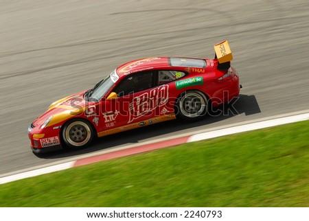 race car at Japan GT