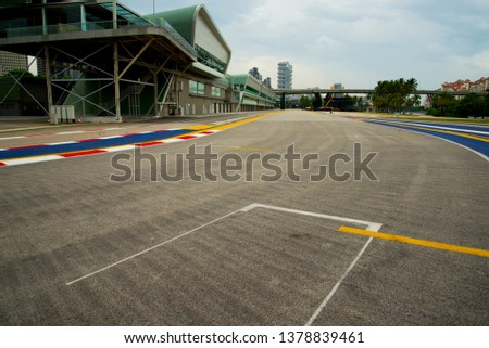 Race Course Circuit - Singapore