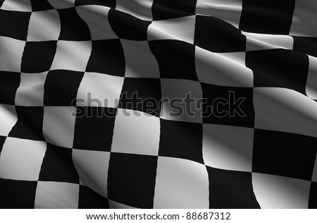Race flag Checkered flag