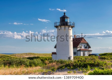 Race Point lighthouse, Cape Cod, Provincetown, Massachusetts, USA