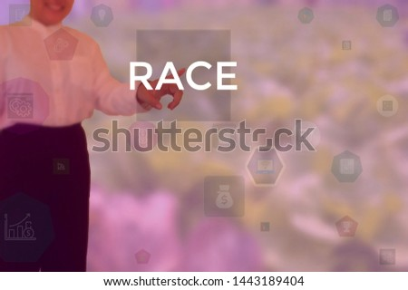 RACE - technology and business concept