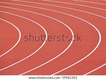 race track curve