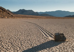 Racetrack Playa Death Valley California