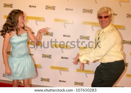 Rachel G. Fox and Michael Irpino  at the Launch Party for Ikea's 'Easy To Assemble' Web Series. Architecture and Design Museum, Los Angeles, CA. 09-18-08 - stock photo