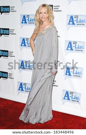 Rachel Zoe, wearing a Notte by Marchesa gown, at Bravo's A-List Awards, Orpheum Theatre, Los Angeles, CA April 5, 2009