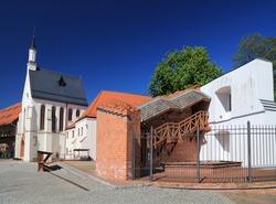 Raciborz city in Poland. Raciborz landmark - Piast dynasty medieval castle (Polish: Zamek Piastowski).