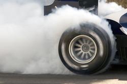 Racing Car Burnout