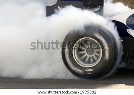 Racing Car Burnout