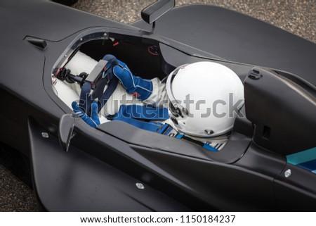 racing driver in race car #1150184237