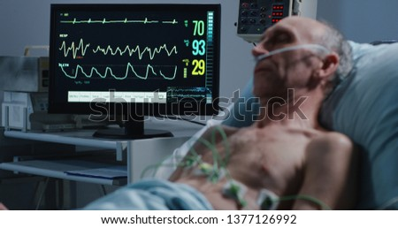 Medical ECG Monitoring Screen Images and Stock Photos - Page