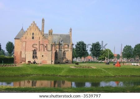 Radboud Castle at Medemblik in holland