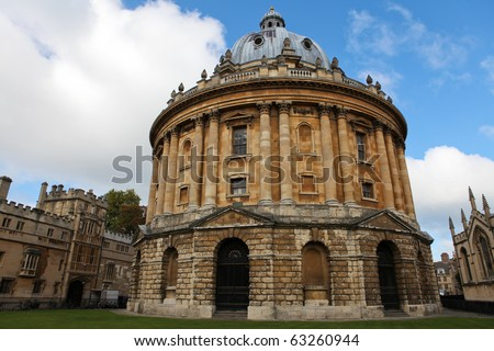 Radcliffe Camera, Famous University building in Oxford