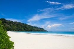 Radhanagar beach of Havelock Island, Port Blair, Andaman and Nicobar Islands