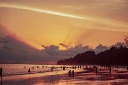 Radhanagar Beach Sunset 2, Andaman Islands