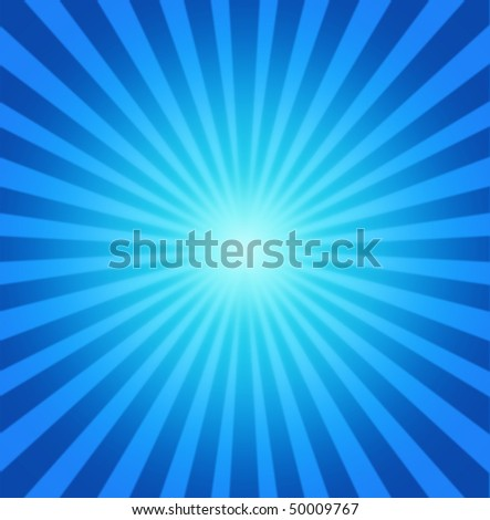 radial blue background