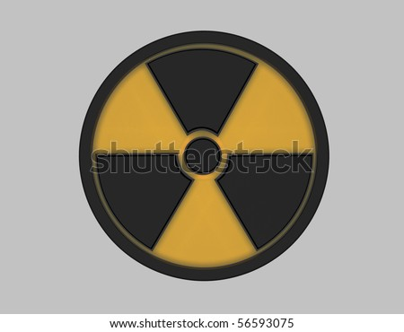 Radiation Symbol - stock photo
