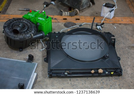 Radiator cooling And cooling system #1237138639