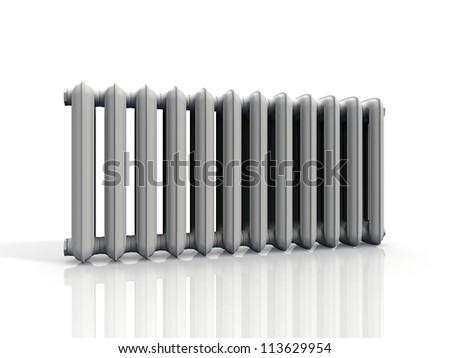 radiator  on a white background