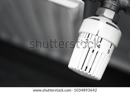Radiator Thermostat / reduce heating costs