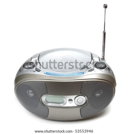 radio and cd's player