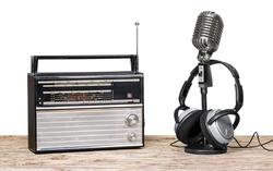 Radio, broadcasting, wallpaper.