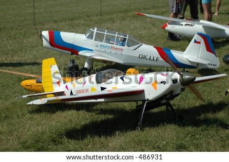 radio controled airplane hobby model
