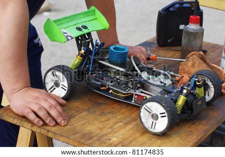 Radio-controlled car - RC cars buggy
