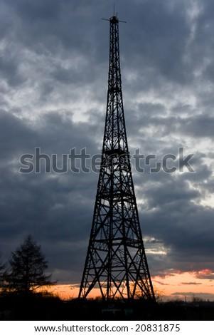 Radiostation tower