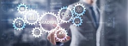 Radius. Protocol for implementing authentication