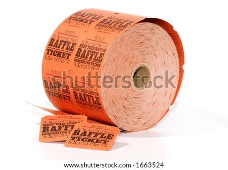 Raffle Ticket Spool