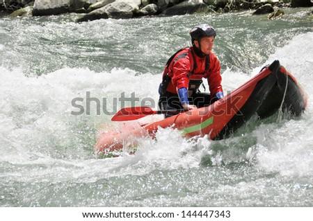 Rafting, Kayaking, extreme, sport, water, fun