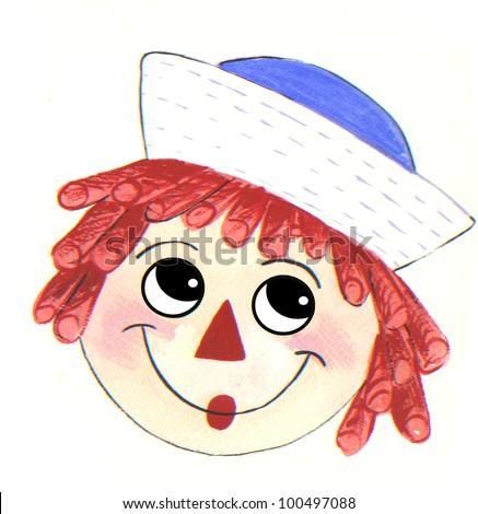 rag doll face
