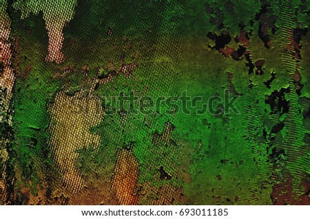Ragged camouflage military pattern background
