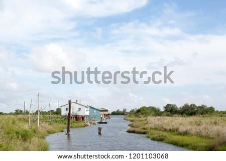 Ragged Louisiana Coast