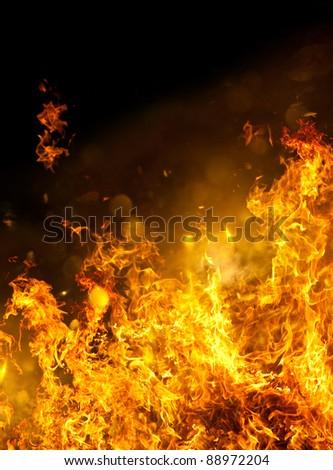 Raging Hot Fire