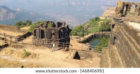 Raigad fort Old Historical Building  #1468406981