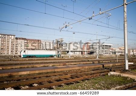 rail train station