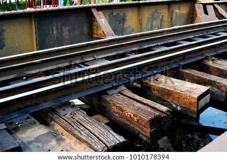 Railroad And Railroad tracks #1010178394