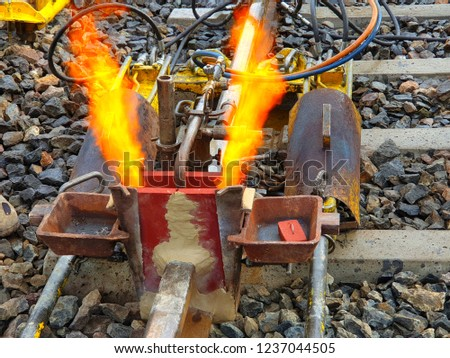 Railroad Exothermic (Thermite) Welding Works