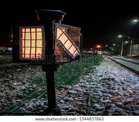 Railroad tracks Surattani #1344837863