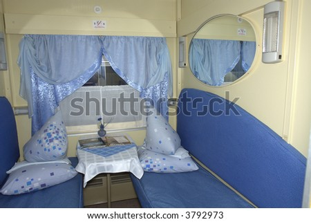 Railway compartment for long journey