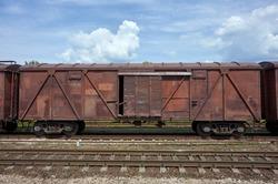 Railway goods wagon
