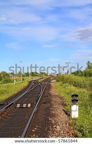 railway near small station
