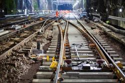 railway point on tracks uk