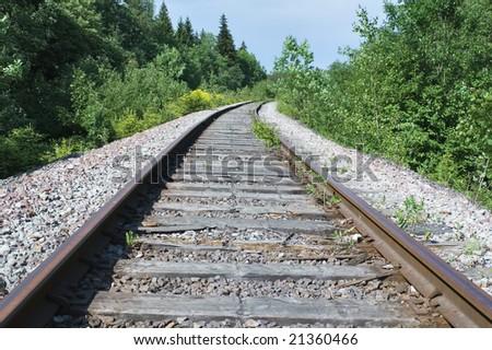 cast iron rails