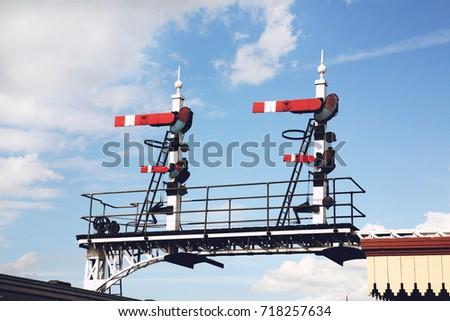 Railway Signals #718257634