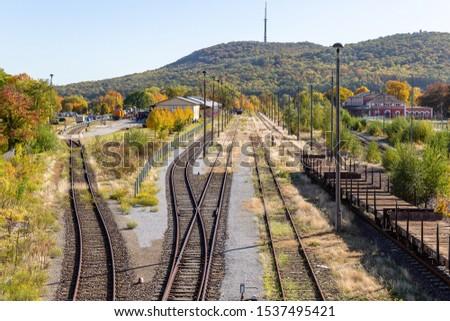 railway station Loebau, Saxony, Germany #1537495421