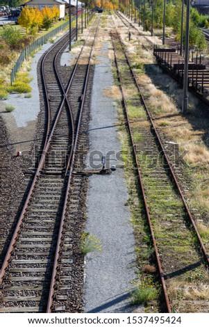railway station Loebau, Saxony, Germany #1537495424