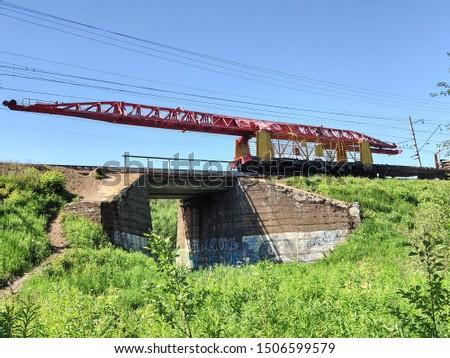railway technique of the bridge